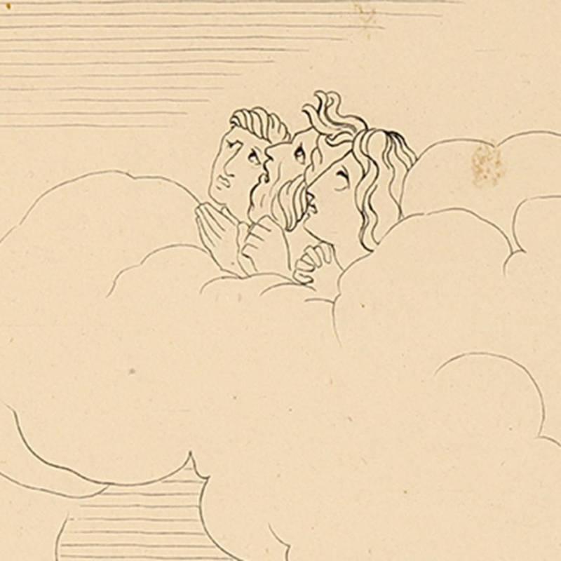 Cabeza de Miguel Ángel