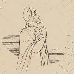The trojan Ripheus admitted to participate in the venture of the chosen (Canto XX. Plate 20)