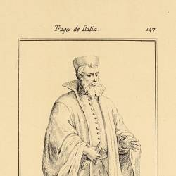 Outfit of the gentlemen of the Doge of Venice