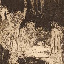 Parsifal. Titurel burial