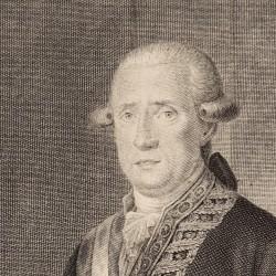 Portrait of José Moñino, count of Floridablanca