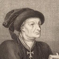 Portrait of Íñigo López de Mendoza, marquis of Santillana