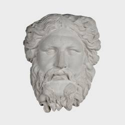 Media cabeza de Zeus