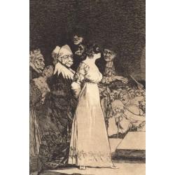 Postal Capricho N.º 2 Francisco de Goya