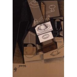 Postal Moulin à cafè Juan Gris