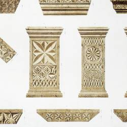 Fragments of the Catholic basilicas preserved in the mosque today cathedral (Córdoba)