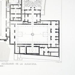 General plan of the Alhambra (Granda)