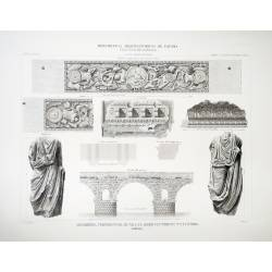 Members, fragments, architectural details and statues (Merida)