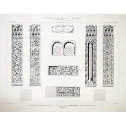Metropolitan atrium architectural members and decoratives fragments (Mérida)