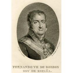 Portrait of Ferdinand VII and Maria Josepha Amalia of Saxony