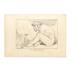 Ulysses make drunk the Cyclops Polyphemus (Book IX. Plate 14)