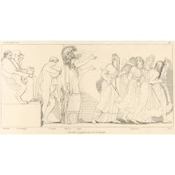 Orestes judged by the Areopagus (The Eumenides. Act V. Plate 27)