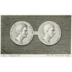 Medalla de Sila y Pompeyo Rufo