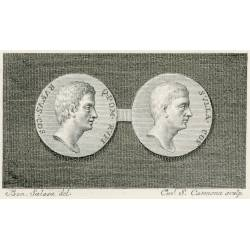 Sulla and Pompeius Rufus coin