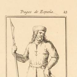 Soldier with the tunic