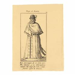 Outfit of the characters of the court of the Catholic King and the governors