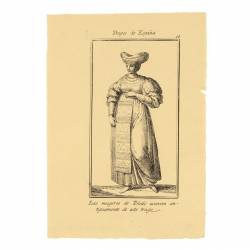 Outfit worn by women from Toledo