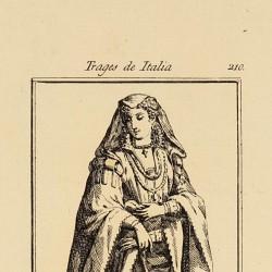 Traje de las nobles de Siena
