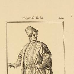 Home outfit of a venetian noble