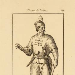 Outfit of a volunteer soldier from the venetian galleys