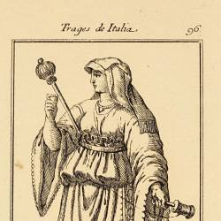 Outfit of the women from the isle of Ischia