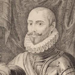 Portrait of Sancho Dávila