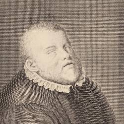 Portrait of Francisco de Salinas