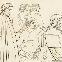 Ulysses recounts his adventures from his departure from the island of Ogijeo until his arrival in the country of the Phaeacians