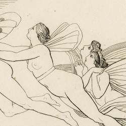 The Nymphs of the Ocean express their pain (Prometheus. Act I. Plate 3)