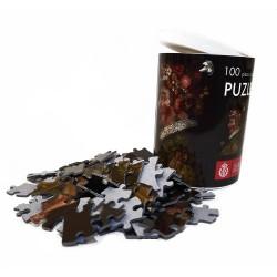 Puzzle Tubo 100 piezas Arcimboldo