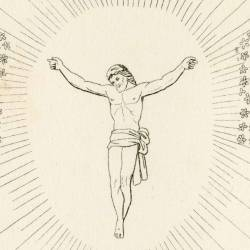 Christ crucified in Paradise (Canto XIV. Plate 14)