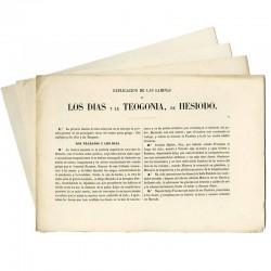 Los Días y la Teogonía de Hesíodo (Colección completa)