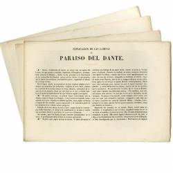 Complete collection Dante's of Paradise