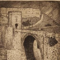 Toledo. Alcántara Bridge