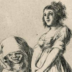 It is better to be lazy (Caprichos Plate 73)