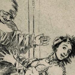 Do not scream, stupid (Caprichos Plate 74)