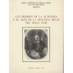 Los Premios de la Academia y el Arte de la segunda mitad del siglo XVIII