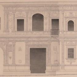 Facade of the city hall