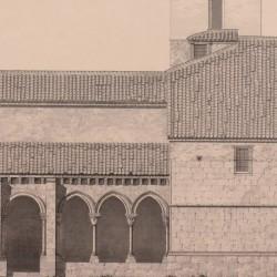 Side facade of the Church of San Lorenzo (Segovia)