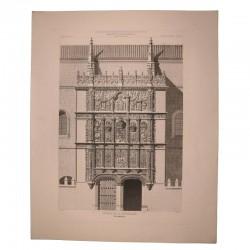Main facade of the University (Salamanca)