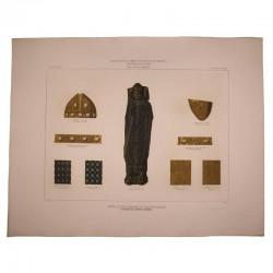 Estatua de bronce esmaltado del obispo Don Mauricio  (existente en  la catedral de Burgos)