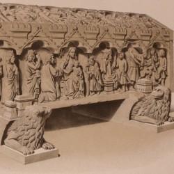 Sepulcros en el coro de Sta. María la Real de Huelgas (Burgos)