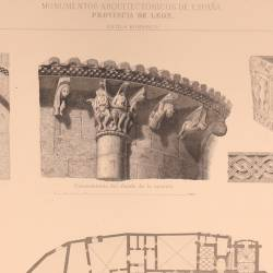 General plan and details of San Isidoro (Leon)
