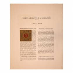 Latin-Byzantine Monuments of the Visigoth Monarchy (Merida). Conclusion