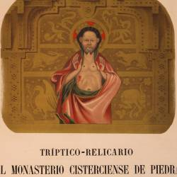 Triptych-Reliquary of the Cistercian Stone Monastery in Aragon