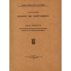 Reglamento de la Fundación Conde de Cartagena