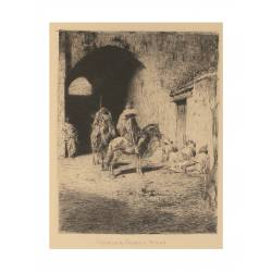 Tétouan kasbah guard