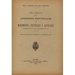 Reglamento de las comisiones provinciales 1920