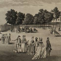 View of the streets of the Queen, Prince and Princesses