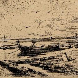 Barque on the beach